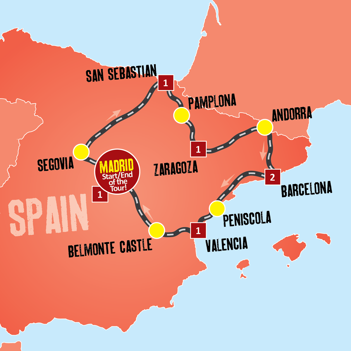 Taste of Spain Holiday Tour Package Expat Explore Travel